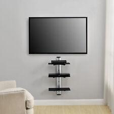 [en.casa] DVD HiFi Glass Shelf Rack Wall Bracket Mount Receiver Shelves
