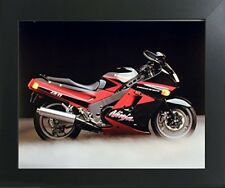 Kawasaki Ninja Zx11 Ron Kimball Motorcycle Wall Decor Art Print Framed Picture