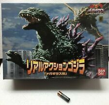 2000 BANDAI GODZILLA REAL ACTION AND SOUND BATTERY OPERATED FIGURE