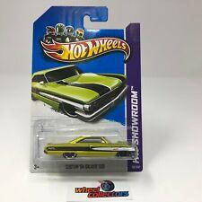 Custom '64 Galaxie 500 #113 * GREEN Kmart Only * Hot Wheels 2013 * WG21
