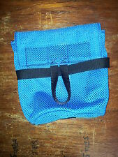 HEAVY DUTY SEA KAYAK DECK MOUNTED TOWLINE BAG ( BLACK or BLUE )