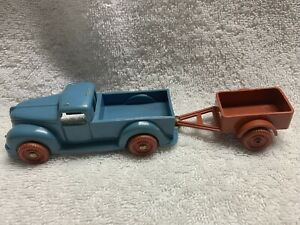 Vintage Hard Plastic Reliable Pickup and trailer