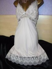 Stunning  mini slip  Exceptionally !!!  silky petticoat  gown baby doll 18/20