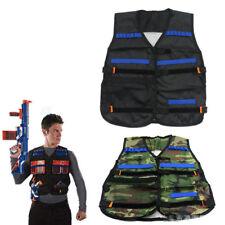 2pcs Nerf Tactical Vest Jacket N-Strike Elite Pistol Toys Bullets Holder 1 Pair