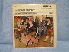 OVERTURE ENCORES VINYL LP; MERRY WIVES OF WINDSOR; LE DOMINO NOIR; PIQUE DAME