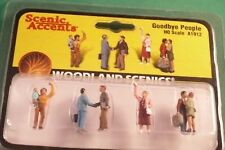 Woodland Scenics, Scenic Accents: Goodbye People - Ho Scale A1912