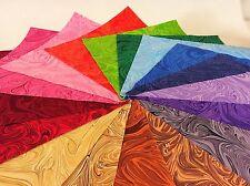 "34 rainbow Swirl pre cut Layer Cake 10 "" squares 100% cotton fabric quilt"