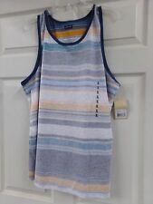 0f29fc87c95c0 Mens Size XL Levi s Striped in Reverse Summer Tank Shirt NEW