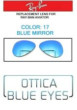 LENTI di Ricambio RAYBAN AVIATOR RB 3025 Ray Ban Replacement Lenses 17 BLUE MIR
