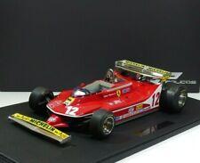 Ferrari F1 312 T4 SHORT TAIL #12 GILLES VILLENEUVE MONACO 1979 GP-Replicas 1:12