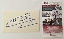 Claudia Cardinale Signed Autographed 3x5 Card JSA Certified