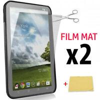 """x2 Film de protection écran Universel 7"""" pouces MAT Anti-Reflets pr Tablette,GPS"""