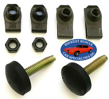 65-79 Ford Fender Body Hood Adjuster Adjusting Support Bumper Bump Stop Bolt TD