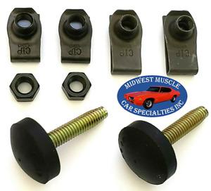 65-79 Ford Fender Body Hood Adjuster Adjusting Support Bumper Bump Stop Bolt TD