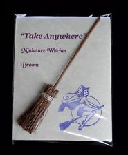 MINIATURE WITCHES BROOM BESOM TALISMAN Wicca Gift Pagan Mini Samhain Yule