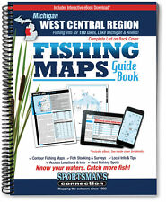 Michigan: West Central Region Fishing Map Guide | 2016 Edition - SCMaps