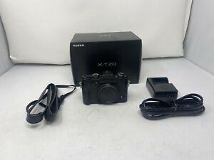 Fujifilm Fuji X-T20 24.3MP Mirrorless Digital Camera - Black (Body Only)!