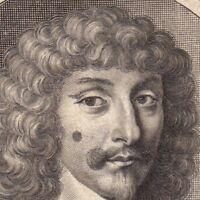 Portrait XVIIe Jean-Baptiste Budes de Guébriant Maréchal Wolfenbüttel Kempen