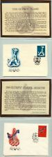Russia USSR 1976 cover x2 Moscow Olympics 1980 . kn698