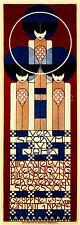 SECESSION, 1902 Austria Art Deco Vintage Reproduction Canvas Print 14X40