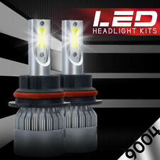XENTEC LED HID Headlight kit 9004 HB1 White for 1993-1993 Jeep Grand Wagoneer