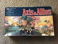 1984 Milton Bradley Axis & Allies WWII Gamemaster Series Board Game  Complete