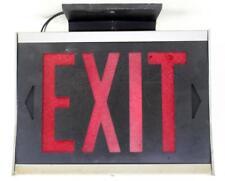 Винтажный знак Exit