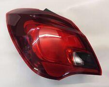 CORSA E 5 DOOR HATCH PASSENGER SIDE N/S  REAR LIGHT 13454496 39090647 GENUINE GM
