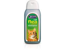 More details for johnsons cat flea cleansing sensitive shampoo 200ml