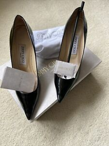 Ladies Jimmy Choo Black Patent  Shoe Size 36.5