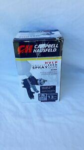 Campbell Hausfeld HVLP Gravity Feed Spray Gun DT7002 New in opened Box