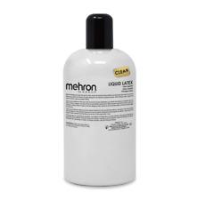 MEHRON Liquid Latex LIGHT FLESH + CLEAR + DARK SKIN, Special FX Makeup,Halloween
