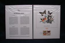 OPC 1977 Fleetwood Butterflies Presentation Folio Panels Sc#1715a FDC