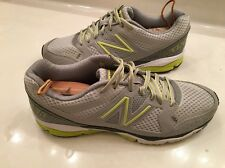 Women's Running Shoes NEW BALANCE RevLite 1290 Grey Yellow W1290GY US Size 10.5