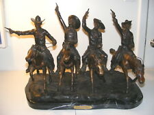Coming Thru The Rye Remington Bronze Statue - Reproduction ~ Full Size 27 x 19