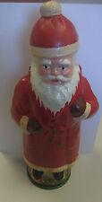 Candybox Weihnachtsmann sehr Alt! Pappmache 30cm*zum befülllen mit Süßigkeiten