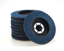 20 INOX Fächerscheiben blau Ø 115 mm Korn 40 Schleifscheibe Winkelschleifer