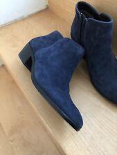 sam edelman Dark Blue Suede Petty Ankle Booties-NWOB-8 1/2-$189