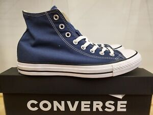NEW IN THE BOX CONVERSE CHUCK TAYLOR ALL STAR HIGH TOP NAVY M9622 SHOES MEN