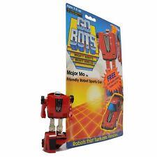 "Vintage TONKA GOBOTS ""MAJOR MO"" #54 Friendly Robot RED SPORTS CAR + CARD-BACK!!"