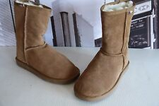 EMU Australia Women's Bronte Lo Boots Chestnut Merino wool   US 9 / UK 7 EU 41