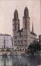 (pwl) Zurich Switzerland: Gross Munster Church