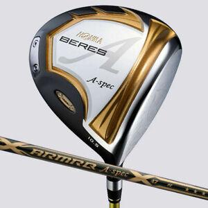 from Japan 3-Star 2021 HONMA Golf Japan BERES A-spec Hi-COR Driver ARMRQ47-S