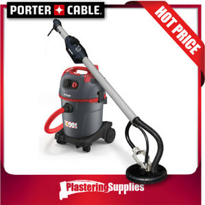 Porter Cable Drywall Plaster Sander Starmix Dust Extractor Package