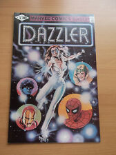 Marvel: Dazzler #1, Pg 24 & 25 B/W Error Var, Htf, 1981, High Grade, Vf/Nm (9.0)