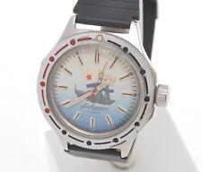 VOSTOK BOCTOK, AMPHIBIAN Albatross orologio Sovietico meccanico manuale, exc+++