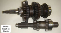 Dnepr MT Gearbox Primary & Secondary Shafts--Direct from factory n