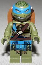 Lego New Leonardo Teenage Mutant Ninja Turtles Minifigure from Set 79117 fig