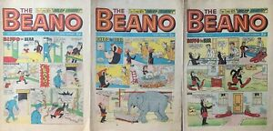 3 Vintage Beano Comics , 13th/20th And 27th October - 52nd Birthday #5