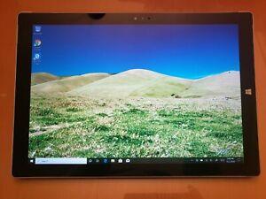 Microsoft Surface Pro 3 1631 256 GB SSD intel i7-4650u RAM 8 GB Win 10 Pro